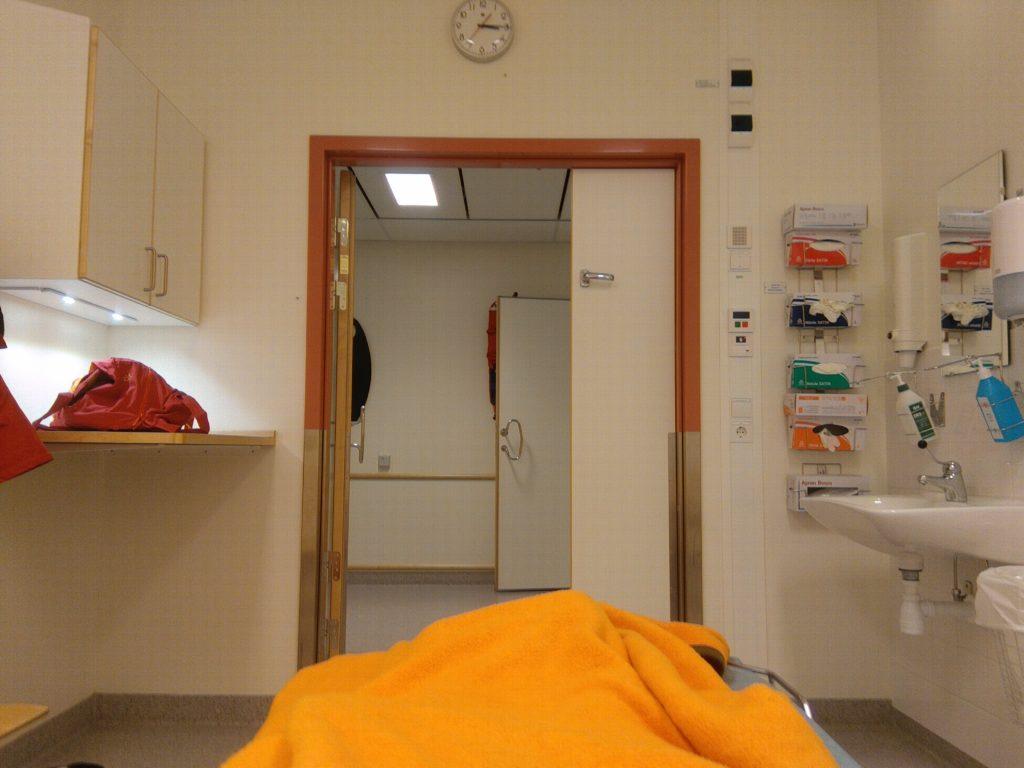 På sjukhus